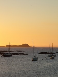 North Berwick Harbour, Seaside accommodation B&B