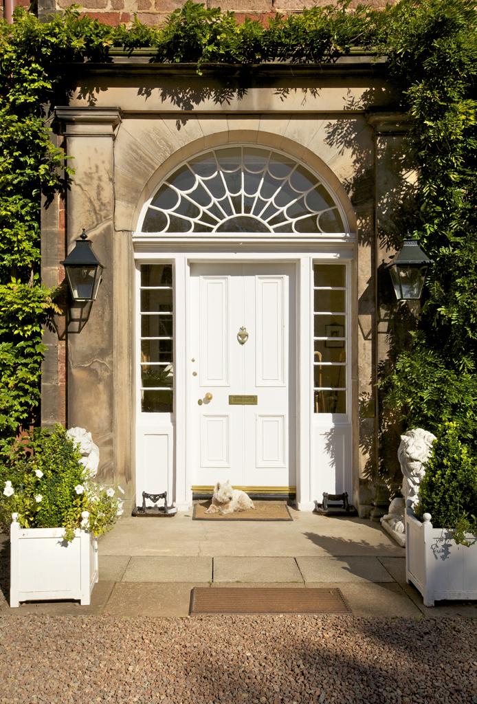 Glebe House front door